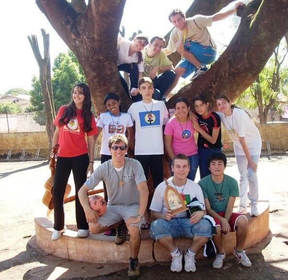 Experiência de solidariedade e voluntariado em julho de 2008. Que bom que o tempo passa né? rs