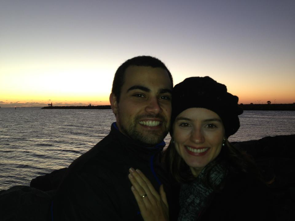 Guilherme e Bárbara, há mais de um ano vivendo na Austrália!
